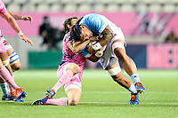 Matthew LUAMANU of Bayonne during the Top 14 match between Stade Francais and Bayonne at Stade Jean Bouin on October 02, 2020 in Paris, France. (Photo by Sandra Ruhaut/Icon Sport) - Stade Jean Bouin - Paris (France)