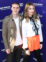 BRENTWOOD, LOS ANGELES, CA, USA - JUNE 07: Nick Noonan, Amy Renee Heidemann, Karmin at the 13th Annual Chrysalis Butterfly Ball held at Brentwood County Estates on June 7, 2014 in Brentwood, Los Angeles, California, United States. (Photo by Xavier Collin/Celebrity Monitor)