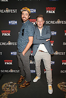 HOLLYWOOD, CA - OCTOBER 12: Fred Sprinkle, Tyler Claire-Smith, at the 21st Screamfest Opening Night Screening Of The Retaliators at Mann Chinese 6 Theatre in Hollywood, California on October 12, 2021. Credit: Faye Sadou/MediaPunch
