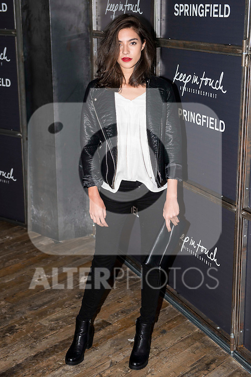 "Rocio Crusset attends to the presentation of the Springfiled Fashion Film of Christmas ""Keep in Touch"" at Luchana Theater in Madrid, November 17, 2015.<br /> (ALTERPHOTOS/BorjaB.Hojas)"