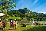 Oesterreich, Tirol, See und gleichnamiger Ort Thiersee bei Kufstein | Austria, Tyrol, Kaiserwinkl, village and lake Thiersee