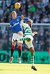 31.03.2019 Celtic v Rangers: Ross McCrorie and Ntcham
