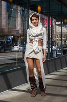 One of Immortan Joe's beautiful wives, Mad Max cosplay, Emerald City Comicon 2016, Seattle, WA, USA.