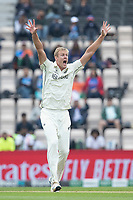 Kyle Jamieson, New Zealand appeals for the wicket of Kohli during India vs New Zealand, ICC World Test Championship Final Cricket at The Hampshire Bowl on 20th June 2021