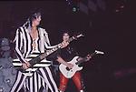 Nikki Sixx of Motley Crue at Madison Square Garden Aug 1985.