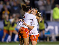 Makenzy Doniak, Gloria Douglas. UCLA advanced on penalty kicks after defeating Virginia, 1-1, in regulation time at the NCAA Women's College Cup semifinals at WakeMed Soccer Park in Cary, NC.