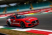9th September 2021; Nationale di Monza, Monza, Italy; FIA Formula 1 Grand Prix of Italy, Driver arrival and inspection day:  F1 Safety Car, Mercedes AMG GT R