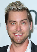 BURBANK, CA, USA - OCTOBER 18: Lance Bass arrives at the 2014 Environmental Media Awards held at Warner Bros. Studios on October 18, 2014 in Burbank, California, United States. (Photo by Xavier Collin/Celebrity Monitor)
