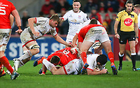 9th November 2019 | Munster vs Ulster<br /> <br /> Tom O'Toole during the Round 6 PRO14 League clash between Munster Rugby and Ulster Rugby at Thomond Park, Limerick, Ireland. Photo by John Dickson / DICKSONDIGITAL
