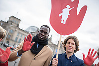 2019/02/11 Politik | Kindersoldaten | Red Hand Day