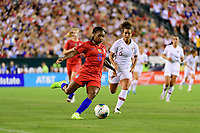PHILADELPHIA, PA - AUGUST 29: Crystal Dunn #19 of the United States during a game between Portugal and USWNT at Lincoln Financial Field on August 29, 2019 in Philadelphia, PA.