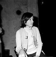 le cineaste Jean-Claude Lord, vers 1970<br /> (date inconnue, avant 1984)<br /> <br /> Photo : Agence Quebec Presse - Roland Lachance