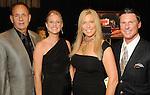 From left: Steve Bowan, Karie Green, Jami Kelley and Shaun Kelley at the San Jose Clinic Art with Heart Gala at the InterContinental Hotel Saturday May 15,2010.  (Dave Rossman Photo)