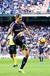 Enes Unal of Real Valladolid in action during the La Liga 2018-19 match between Real Madrid and Real Valladolid at Estadio Santiago Bernabeu on November 03 2018 in Madrid, Spain. Photo by Diego Souto / Power Sport Images