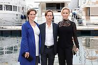 Mipcom Cannes le 17 Octobre 2016 Friederike Beccht Tom Schilling Sofia Helin Photocall The Same Sky