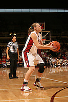 25 February 2006: Clare Bodensteiner during Stanford's 78-47 win over the Washington State Cougars at Maples Pavilion in Stanford, CA.