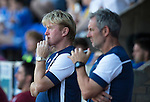 St Johnstone v Bradford City…19.07.16  McDiarmid Park, Perth. Pre-season Friendly<br />Stuart McCall and Kenny Black watch the game<br />Picture by Graeme Hart.<br />Copyright Perthshire Picture Agency<br />Tel: 01738 623350  Mobile: 07990 594431