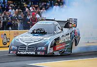 Aug. 5, 2011; Kent, WA, USA; NHRA funny car driver Matt Hagan during qualifying for the Northwest Nationals at Pacific Raceways. Mandatory Credit: Mark J. Rebilas-