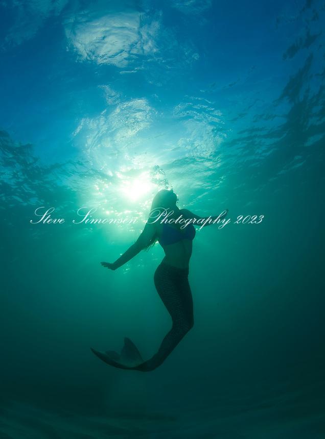 Mermaid Silhouette<br /> Virgin Islands