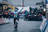 Sanne Cant (BEL) wins her 3rd consecutive World Title<br /> <br /> Women's Elite race<br /> <br /> UCI 2019 Cyclocross World Championships<br /> Bogense / Denmark<br /> <br /> ©kramon