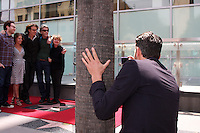 LOS ANGELES - MAY 9:  Rick Springfield, Michael Springthorpe, family being photographed by Jason Thompson at the Rick Springfield Hollywood Walk of Fame Star Ceremony at Hollywood Blvd on May 9, 2014 in Los Angeles, CA