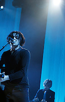 """Jack White does a special performance at Webster Hall filmed for """"American Express Unstaged"""" which was directed by Gary Oldman on April 27, 2012.  Credit: Jen Maler/MediaPunch Inc."""