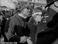 Richard Branson, Grosvenor Sq demo' 1968