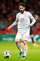 Spain's Isco Alarcon during international friendly match. March 27,2018.(ALTERPHOTOS/Acero) /NortePhoto.com NORTEPHOTOMEXICO