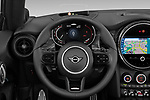 Car pictures of steering wheel view of a 2022 MINI Cooper-Convertible John-Cooper-Works-Signature 2 Door Convertible Steering Wheel