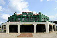 Rickwood Field is the oldest surviving professional baseball park in the United States, first opening on August 18, 1910, as home for the Birmingham Barons.  Image taken on April 16, 2013 in Birmingham, Alabama.  (Mike Janes/Four Seam Images)