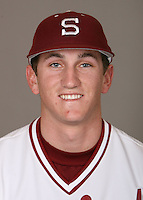 STANFORD, CA - JANUARY 7:  Colin Walsh of the Stanford Cardinal baseball team poses for a headshot on January 7, 2009 in Stanford, California.