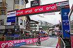 Race leader Egan Bernal (COL) Ineos Grenadiers wins Stage 16 of the 2021 Giro d'Italia, running 212km from Sacile to Cortina D'Ampezzo, Italy. 24th May 2021.  <br /> Picture: LaPresse/Gian Mattia D'Alberto | Cyclefile<br /> <br /> All photos usage must carry mandatory copyright credit (© Cyclefile | LaPresse/Gian Mattia D'Alberto)