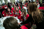 Canadian Olympic team members receive  their Olympic Rings at the Fairmont Chateau Laurier, Ottawa, Canada. Wednesday November 2, 2016.    COC Photo/David Jackson