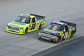 NASCAR Camping World Truck Series<br /> Bar Harbor 200<br /> Dover International Speedway, Dover, DE USA<br /> Friday 2 June 2017<br /> Matt Crafton, Ideal Door / Menards Toyota Tundra, Justin Haley, Fraternal Order of Eagles Chevrolet Silverado<br /> World Copyright: John K Harrelson<br /> LAT Images<br /> ref: Digital Image 17DOV1jh_03375