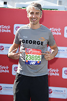 George Lamb<br /> at the start of the 2018 London Marathon, Greenwich, London<br /> <br /> ©Ash Knotek  D3397  22/04/2018