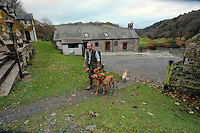 FAO JANET TOMLINSON, DAILY MAIL PICTURE DESK<br />Pictured: Exterior view of the training barn Wednesday 23 November 2016<br />Re: The Dog House in the village of Talog, Carmarthenshire, Wales, UK