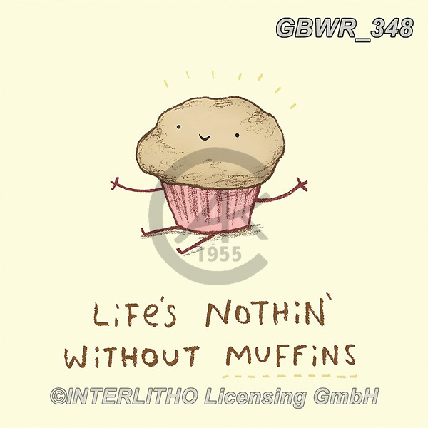 Simon, REALISTIC ANIMALS, REALISTISCHE TIERE, ANIMALES REALISTICOS, innovativ, paintings+++++SophieCorrigan_Muffins,GBWR348,#a#, EVERYDAY