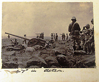 BNPS.co.uk (01202) 558833<br /> Pic: Charles Miller/BNPS<br /> Taprell Dorling's images of the Boer War at the turn of the 20th century <br /> <br /> A fascinating photo album compiled by a British naval officer on tour in the Far East at the turn of the 20th century has come to light.<br /> <br /> Taprell Dorling served on the HMS Terrible in 1900 at the start of an over 30 year career at sea.<br /> <br /> The album, containing 74 photos, has emerged for sale with auctioneers Charles Miller, of London, with an estimate of £3,000.