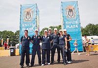 18-06-13, Netherlands, Rosmalen,  Autotron, Tennis, Topshelf Open 2013, , KNLTB Lounge en plaza, Umpires<br /> Photo: Henk Koster