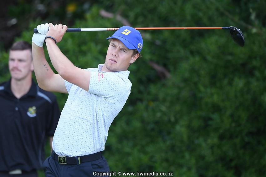 Inia Logan, Otago, 2019 New Zealand Men's Interprovincials, Hastings Golf Club, Hawke's Bay, New Zealand, Tuesday 26th November, 2019. Photo: Kerry Marshall/www.bwmedia.co.nz