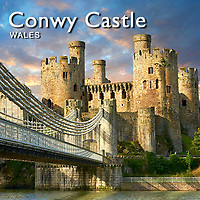 Images of the Medieval Conwy Castle Wales | Pictures & Photos