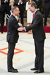 King Felipe VI attends to the National Sports Awards 2015 at El Pardo Palace in Madrid, Spain. January 23, 2017. (ALTERPHOTOS/BorjaB.Hojas)