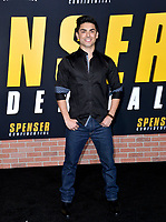"LOS ANGELES, CA: 27, 2020: Diego Tinoco at the world premiere of ""Spenser Confidential"" at the Regency Village Theatre.<br /> Picture: Paul Smith/Featureflash"
