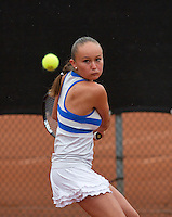 07-08-13, Netherlands, Rotterdam,  TV Victoria, Tennis, NJK 2013, National Junior Tennis Championships 2013, Romy Kerkhove<br /> <br /> <br /> Photo: Henk Koster