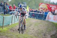 Koppenbergcross 2013<br /> <br /> Christine 'Peanut' Vardaros (USA)