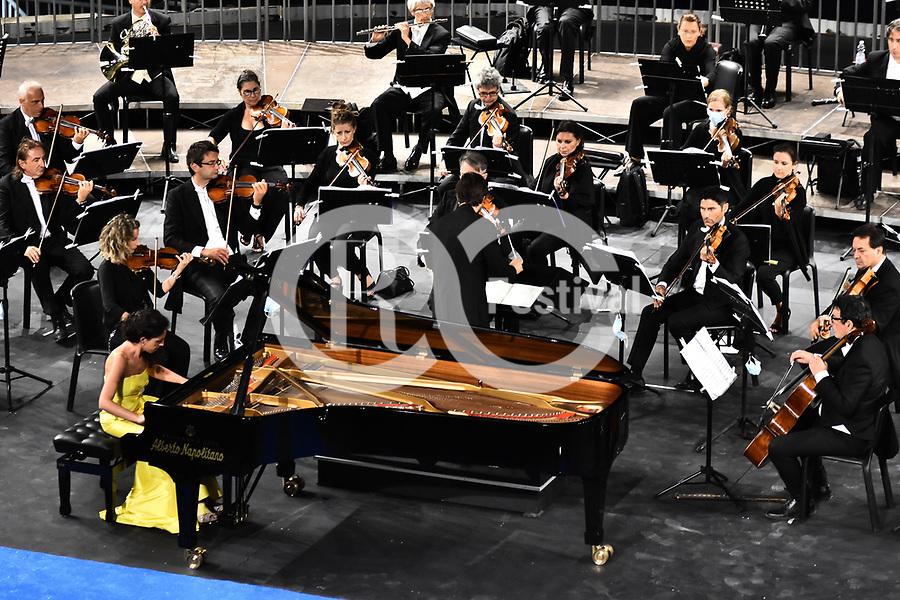 Sul Belvedere di Villa Rufolo, <br /> Orchestra del Teatro di San Carlo di Napoli<br /> Direttore Juraj Valčuha<br /> Beatrice Rana, pianoforte<br /> Musiche di Beethoven