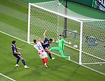 22.06.2021 Croatia v Scotland: John McGinn narrowly misses