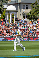 NZ's Neil Wagner walks off after his unbeaten innings of 66 during day two of the second International Test Cricket match between the New Zealand Black Caps and West Indies at the Basin Reserve in Wellington, New Zealand on Friday, 11 December 2020. Photo: Dave Lintott / lintottphoto.co.nz