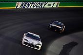 #20: Harrison Burton, Joe Gibbs Racing, Toyota Supra Dex Imaging, #93: Myatt Snider, RSS Racing, Chevrolet Camaro RSS Racing