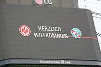 Mannschaften auf dem Videowürfel<br /> <br /> - 24.07.2021 Fussball 1. Bundesliga, Saison 21/22, Freundschaftsspiel, SG Eintracht Frankfurt vs. Racing Straßburg, Deutsche Bank Park, emonline, emspor, <br /> <br /> Foto: Marc Schueler/Sportpics.de<br /> Nur für journalistische Zwecke. Only for editorial use. (DFL/DFB REGULATIONS PROHIBIT ANY USE OF PHOTOGRAPHS as IMAGE SEQUENCES and/or QUASI-VIDEO)